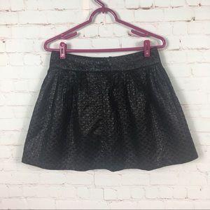 Black Forever 21 Round Skirt | Medium